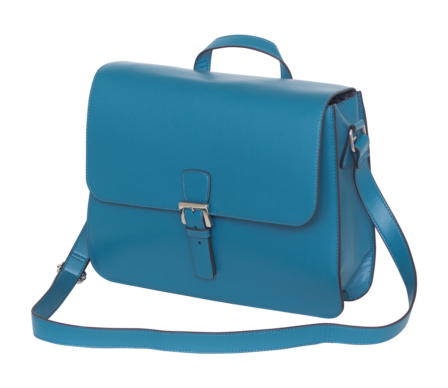 Offex Women's Lily Blue Mini Messenger Bag