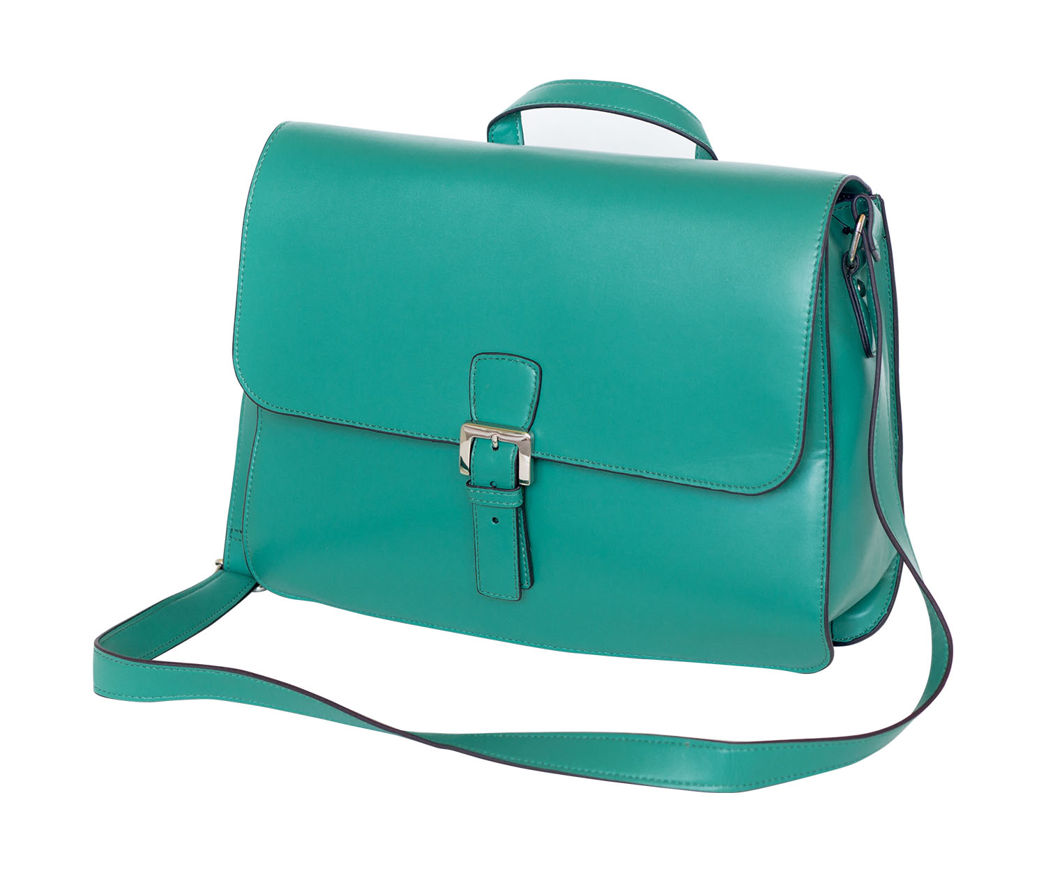 Offex Women's Lily Emerald Mini Messenger Bag