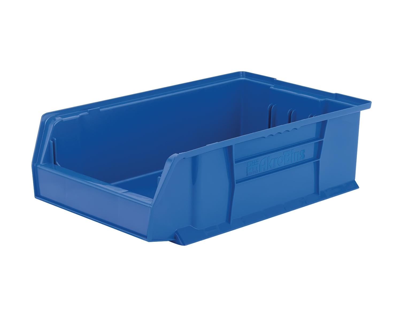 Akromils mobile kit storage stacking organizer bin blue 4 - Stackable 20desk 20organizer ...