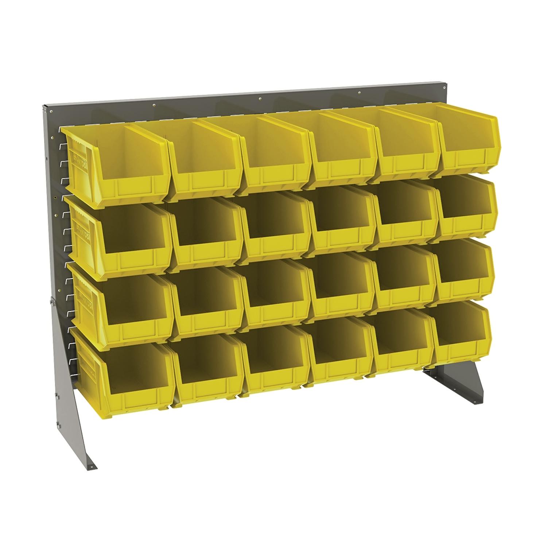 Akromills Storage Organizer Kit Low Profile Floor  Rack No Shelf 30240 Yellow - 53X 13.5X 39.87 at Sears.com