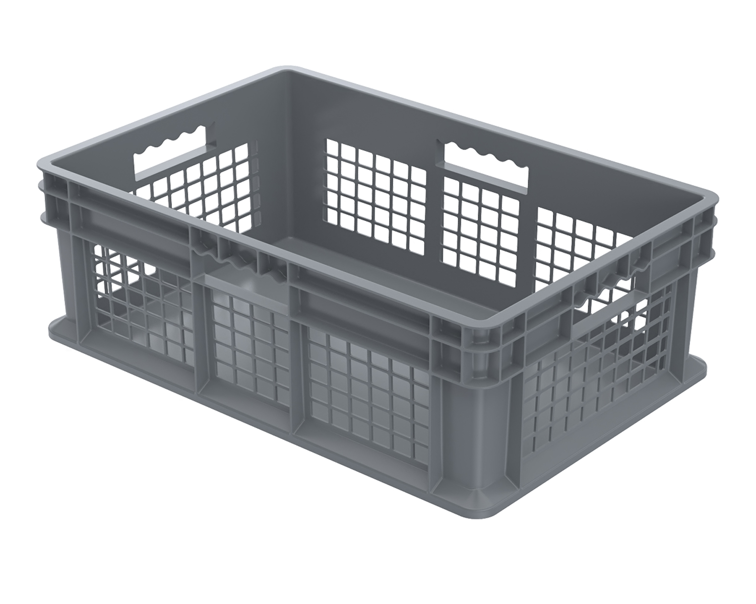 Akromills Storage Organizer Straight Wall Container System Mesh  Side/Solid Bott 4 Pack - 23.75X 15.75X 8.25 at Sears.com