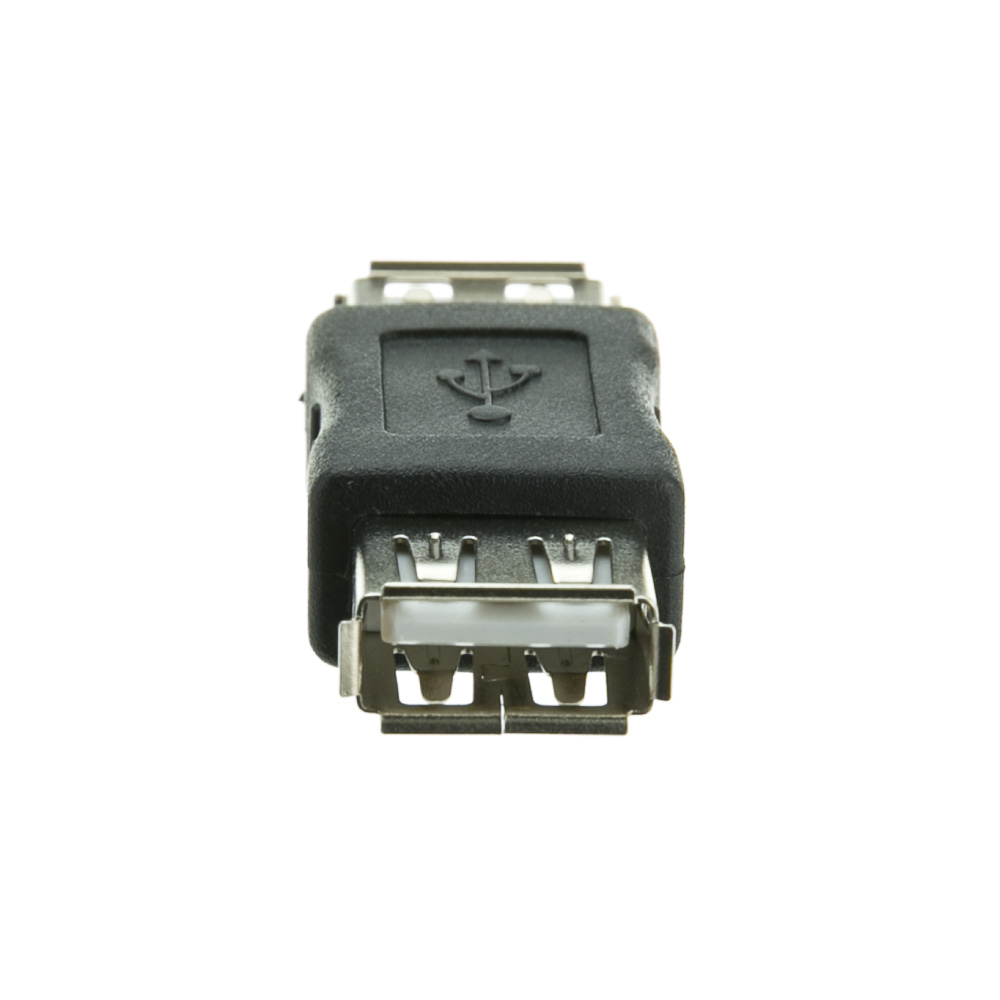 Offex USB Coupler / Gender Changer, Type A Female to Type A Female