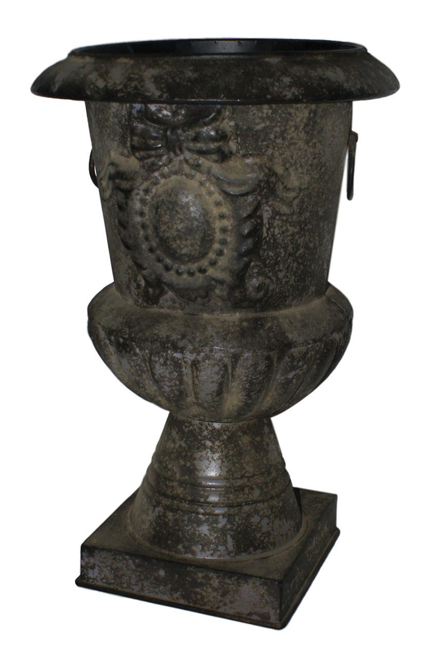 Cheungs Home Decorative Garden Outdoor 18 Metal Antique Metal Urn Ebay