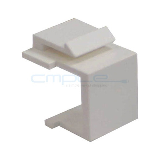 Offex Blank Insert For Wall Plate - 10pcs/Pack (White)