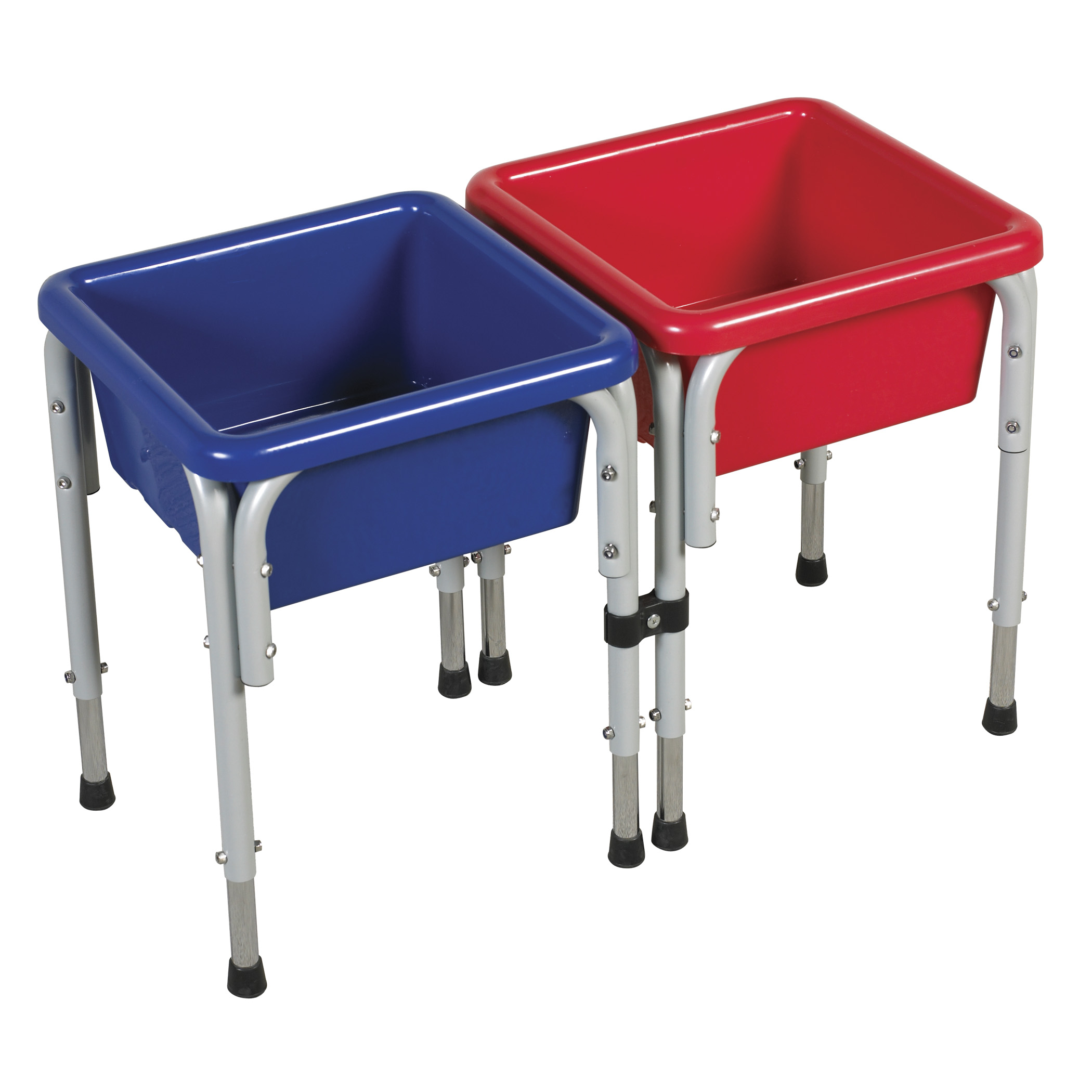 Offex 2 Station Square Sand & Water Table with Lids
