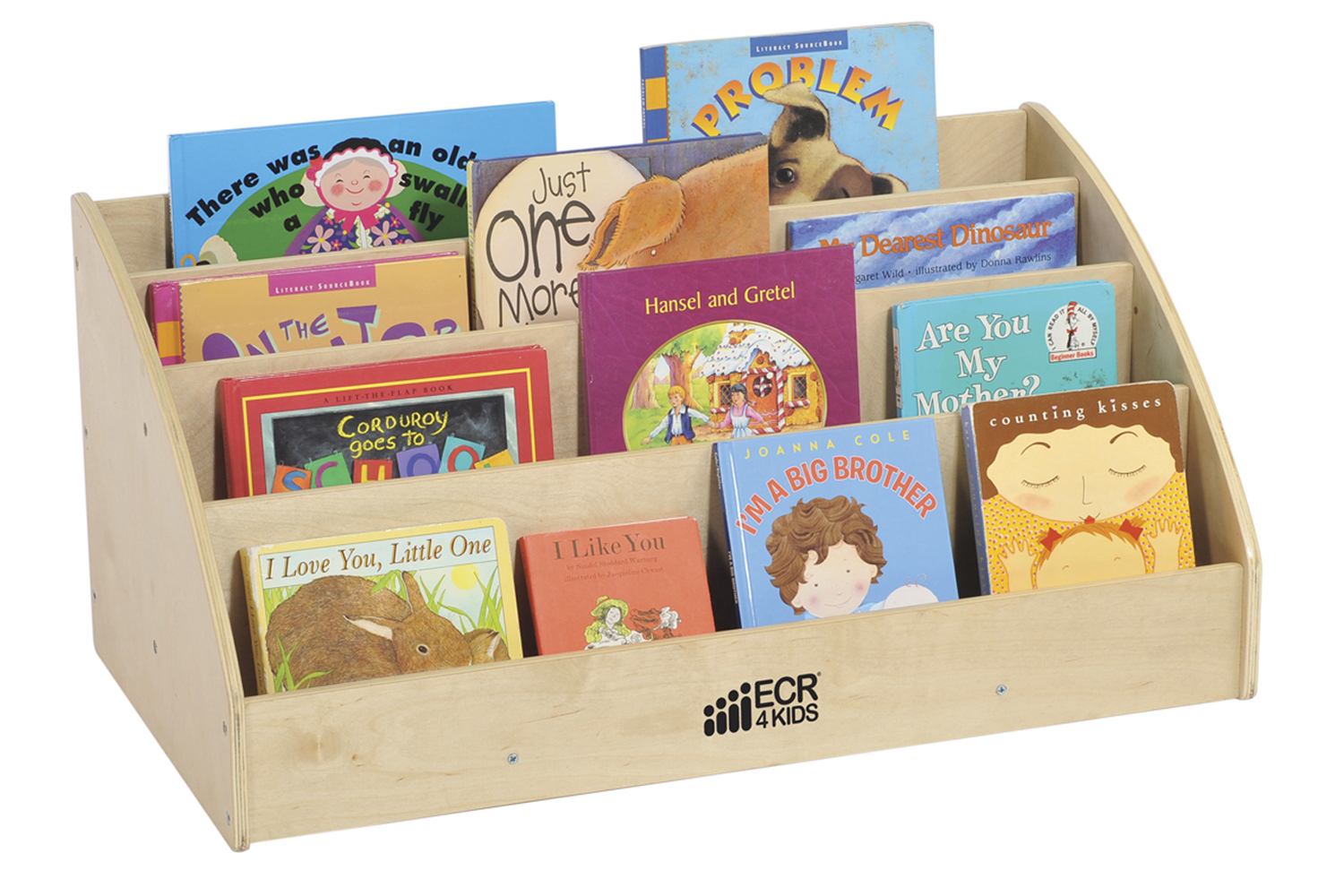 Offex Kids Children Birch Toddler Book Display