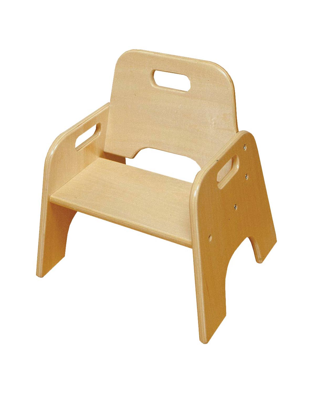 Ecr4kids stackable children wooden toddler chair furniture 6 inch 2 packs ebay Wooden childrens furniture