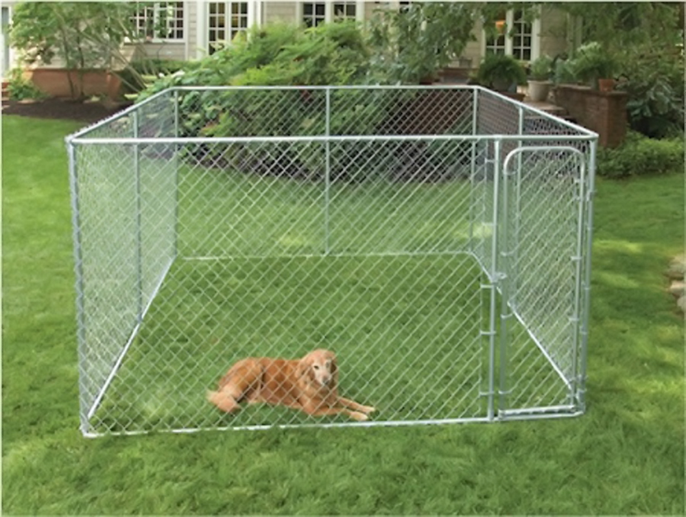 PetSafe 2 In 1 Pet Dog Outdoor Backyard Kennel Dog Run