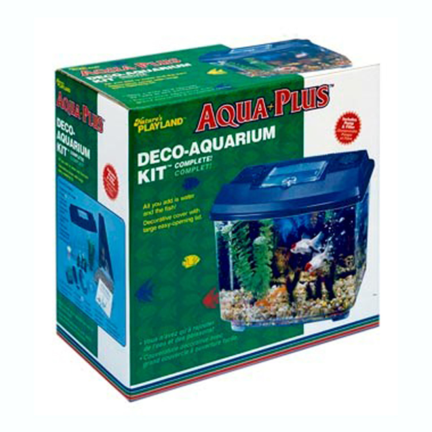 Fish aquarium 2 gallon hawkeye 2 gallon 360 starter for Walmart fish supplies