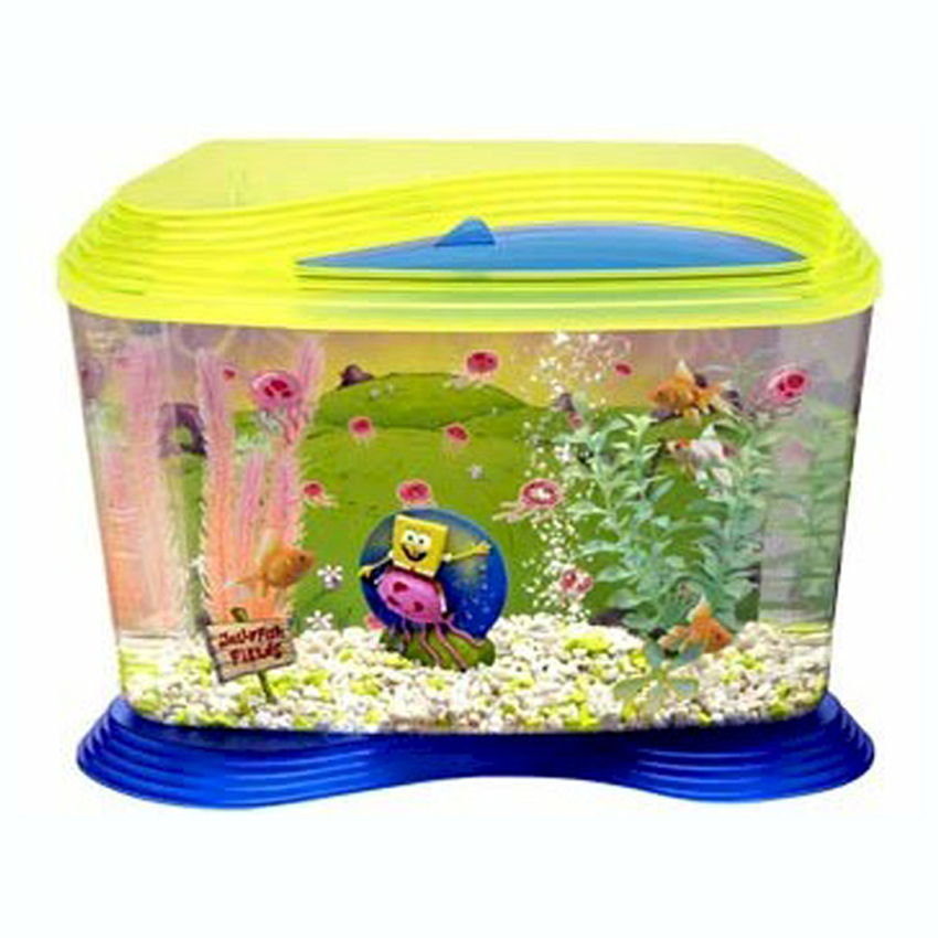 ... Nuwave Glass Aquarium Fish Tank With Easy Opening Lid 6 Gallons eBay
