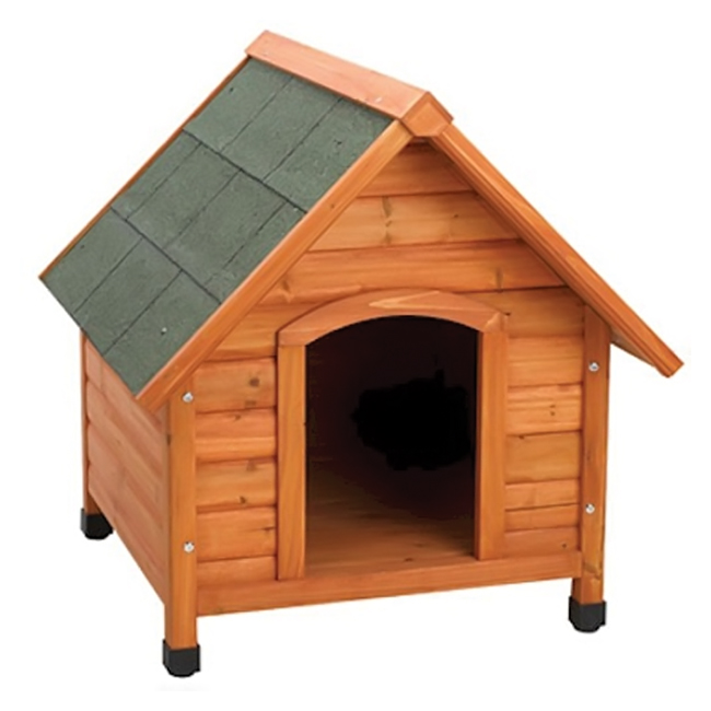 WARE Premium Plus A-Frame Dog House - Medium