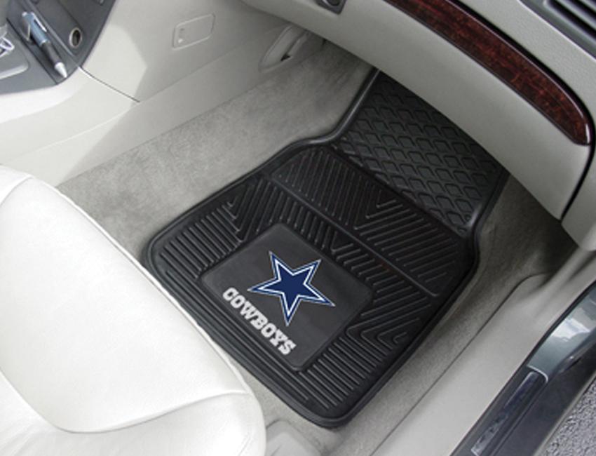 "Fanmats Dallas Cowboys Heavy Duty 2-Piece Vinyl Car Mats 18""x27"" at Sears.com"