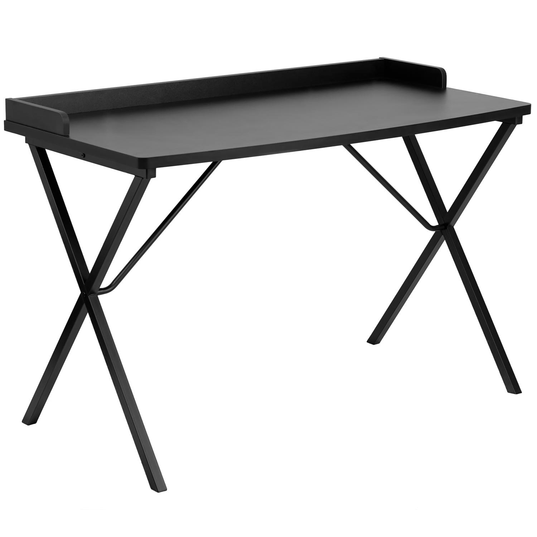 Offex OF-NAN-2140-BK-GG Black Computer Desk