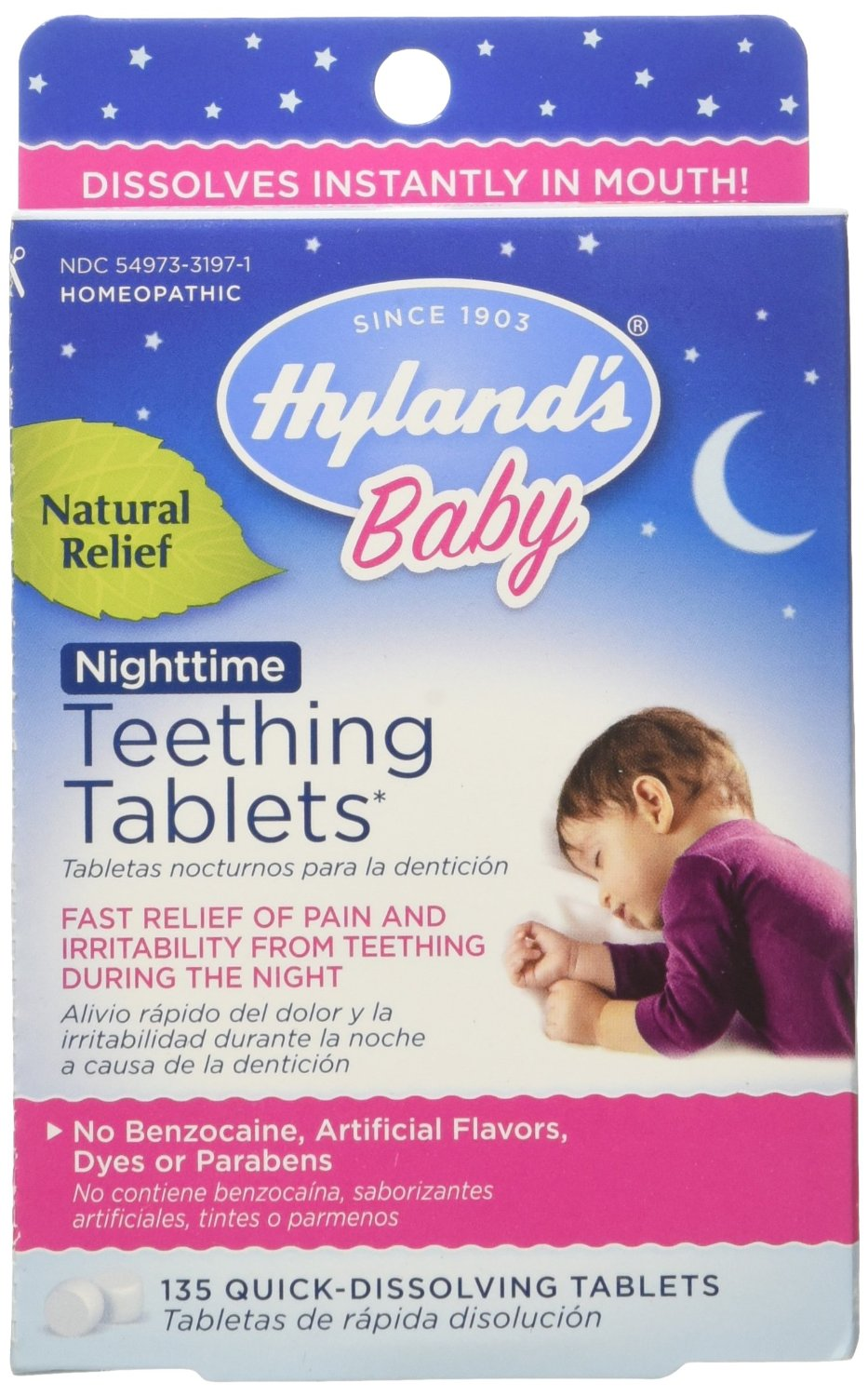 Hyland's Homeopathic Baby Natural Relief Night Time Te..