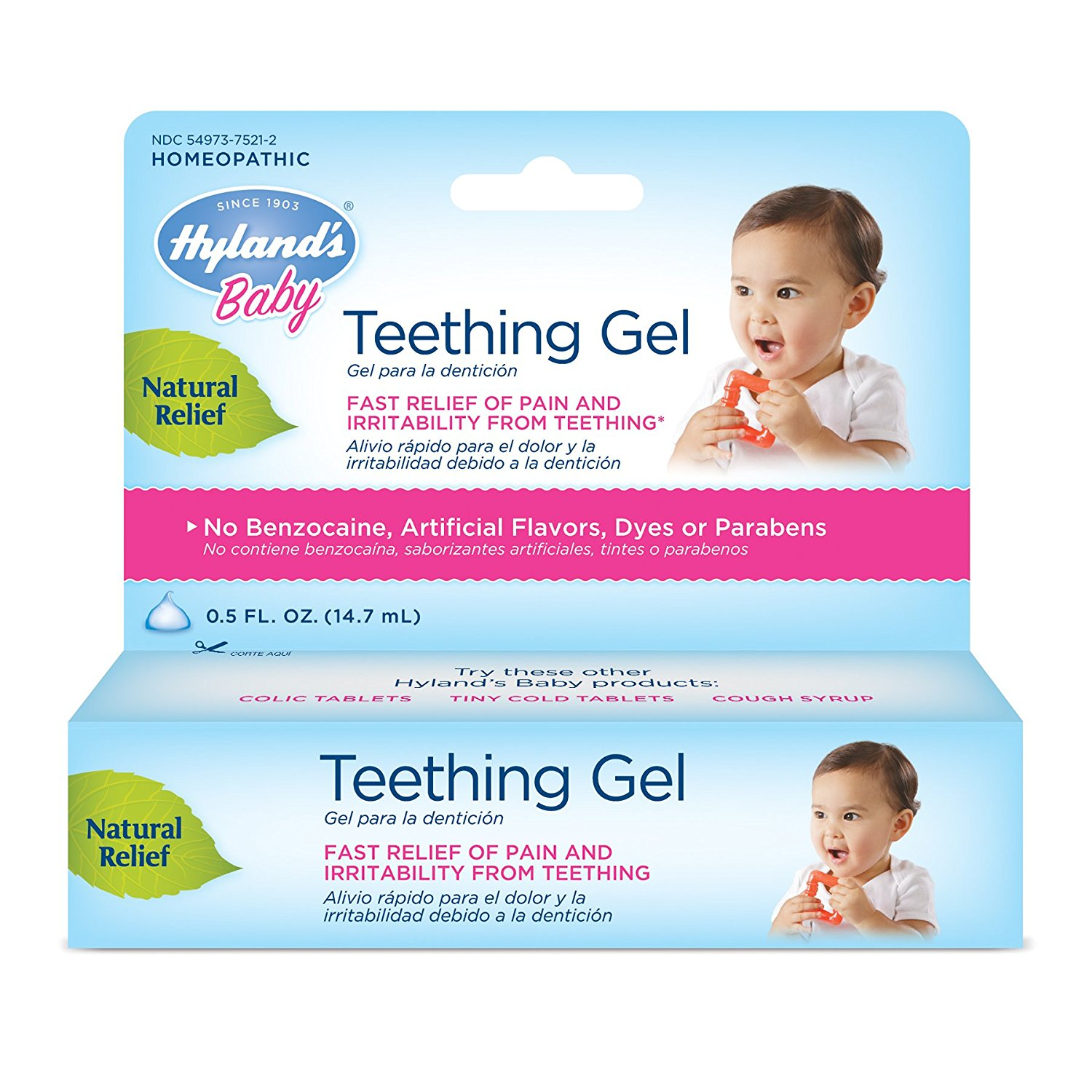 Hyland's Homeopathic Baby Natural Relief Teething Gel ..