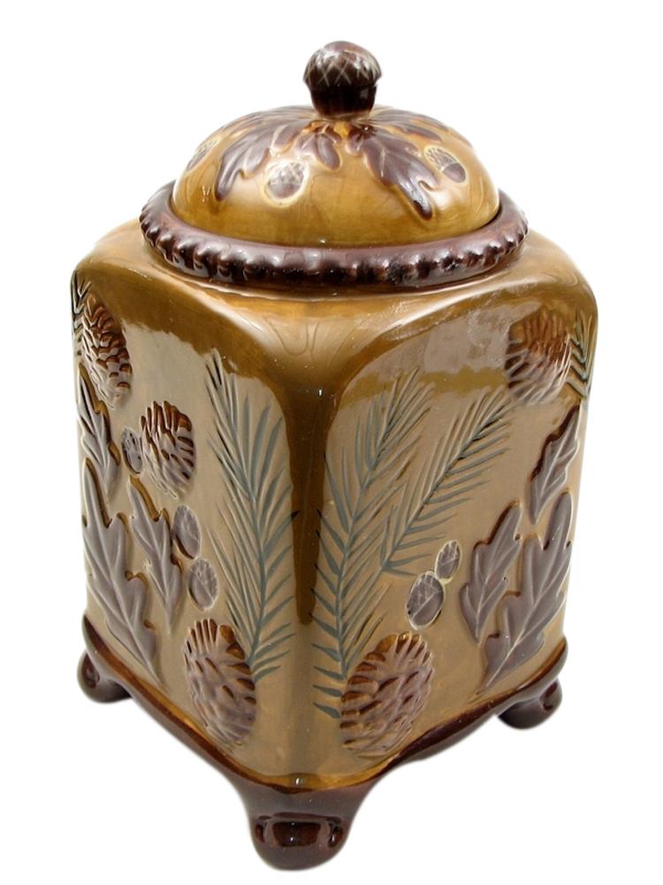 Iwgac Home Indoor Outdoor Decor Collections Pinecone Cookie Jar