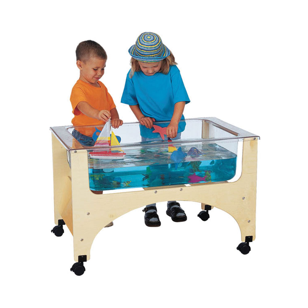 Jonti-Craft Kids Classroom Game Play Room Multi-function Wooden See Thru Sensory Activity Table at Sears.com