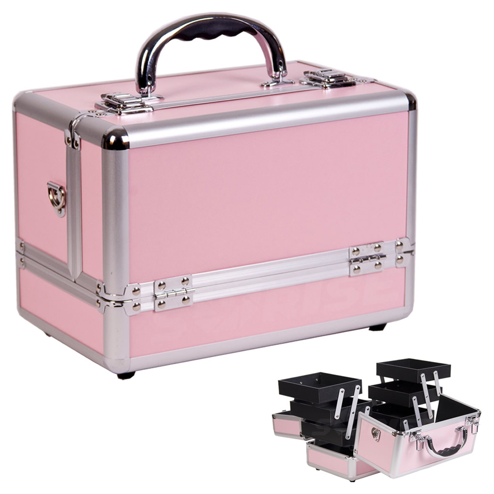 Hanging Cosmetic Case - Pink The Hanging Cosmetic Case is designed to work with the Dream Duffel ® to provide additional storage and organization for your makeup and hair accessories. Size: 9