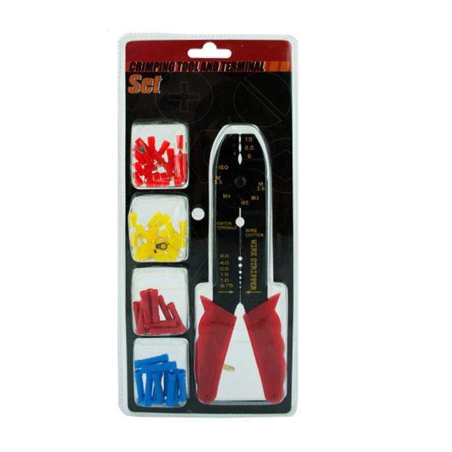 bulk buys Household Wire Cable Plumbing Crimping Tool And Terminal Set Pack of 6 at Sears.com