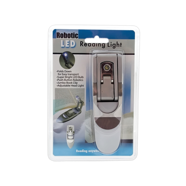 bulk buys Portable Push Button Robotic LED Reading Book Light Pack of 12 at Sears.com