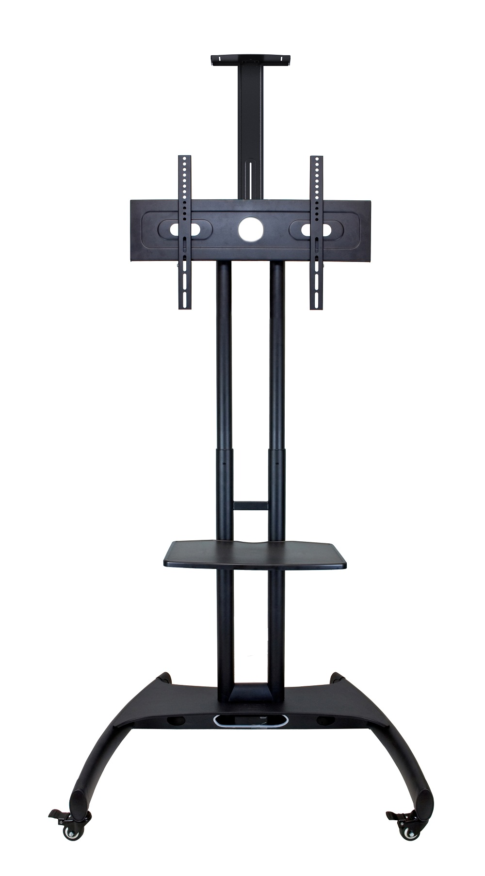 H Wilson Height Adjustable Moving Flat 32 - 60 Inch LCD TV Stand Cart Gray at Sears.com