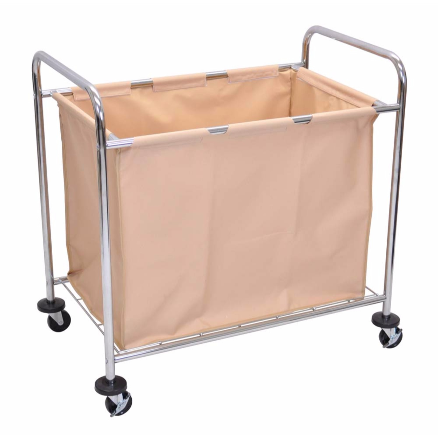 Luxor Heavy Duty Rolling Commercial Canvas Laundry Utility