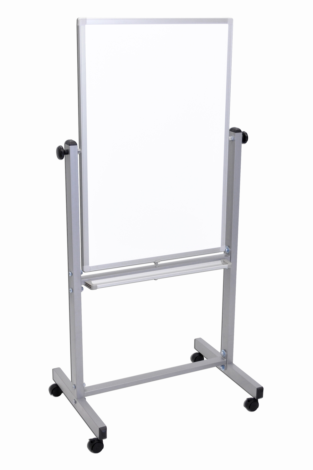 Offex L270-1PK Double Sided Portable Magnetic Whiteboard Presentation Easel 24