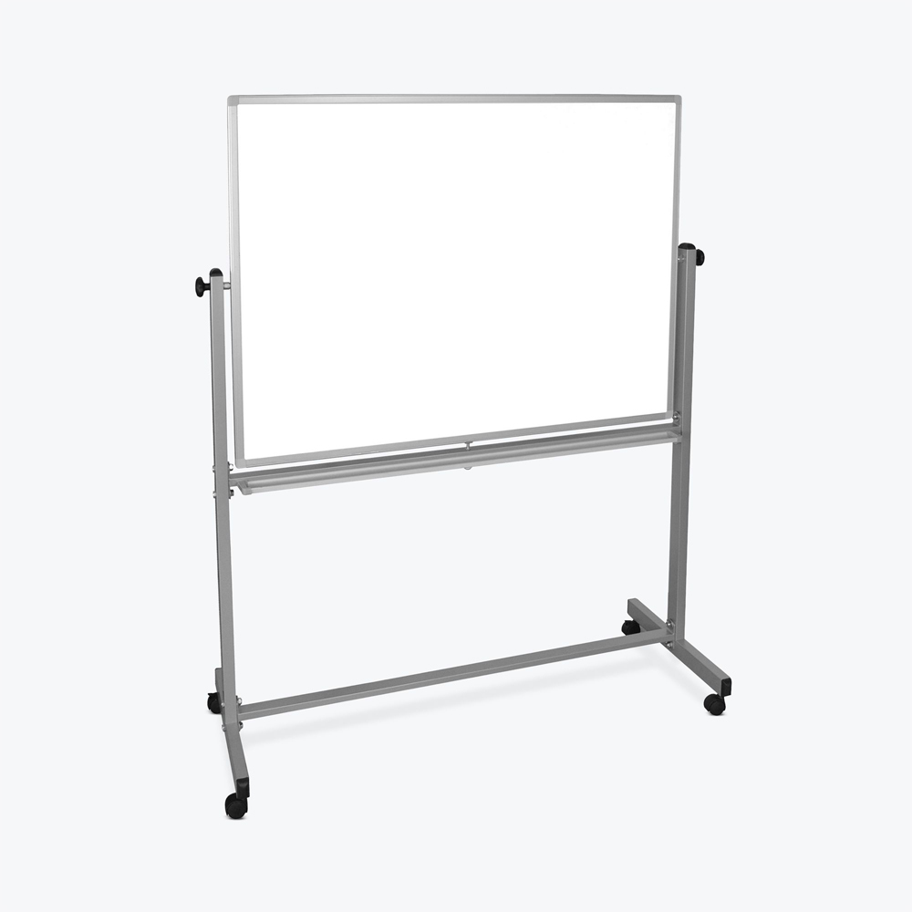 Offex Double Sided Magnetic White Board 46x34