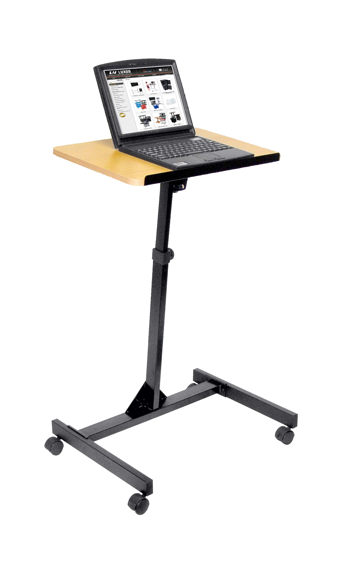Offex Adjustable Height Mobile Lectern