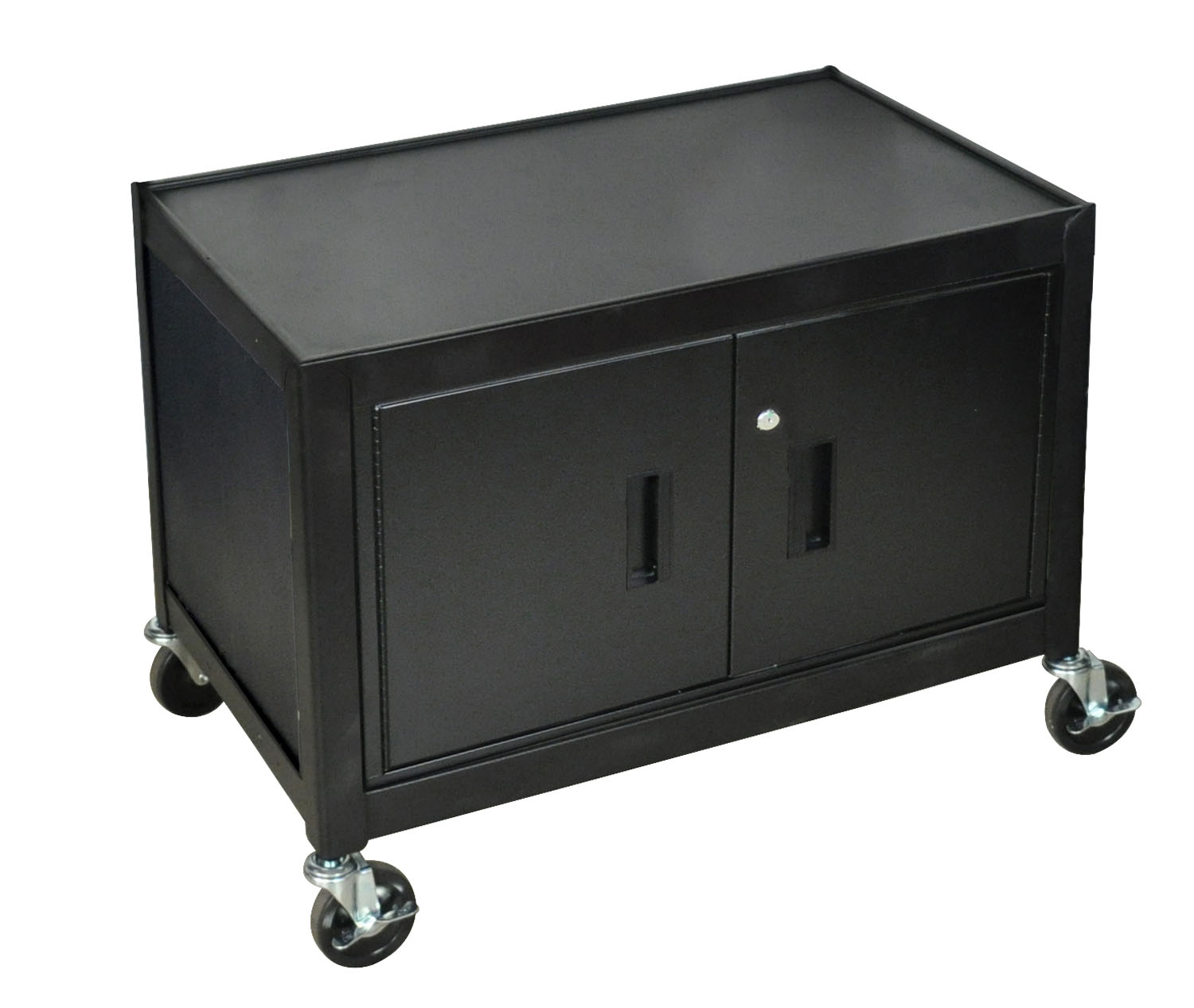Offex Mobile Lockable Steel Storage Cabinet 29