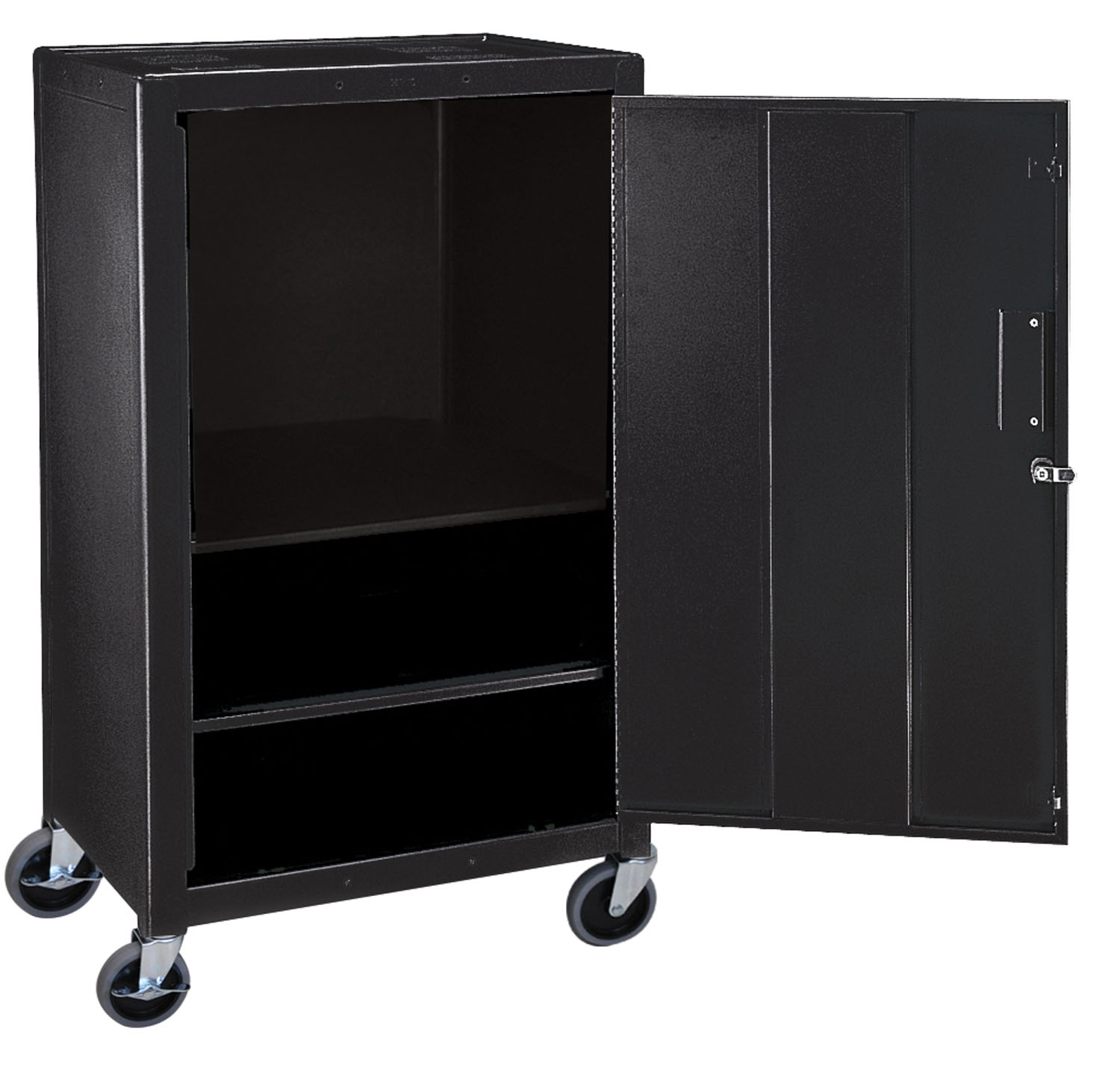 Offex Mobile Lockable Steel Storage Cabinet 42