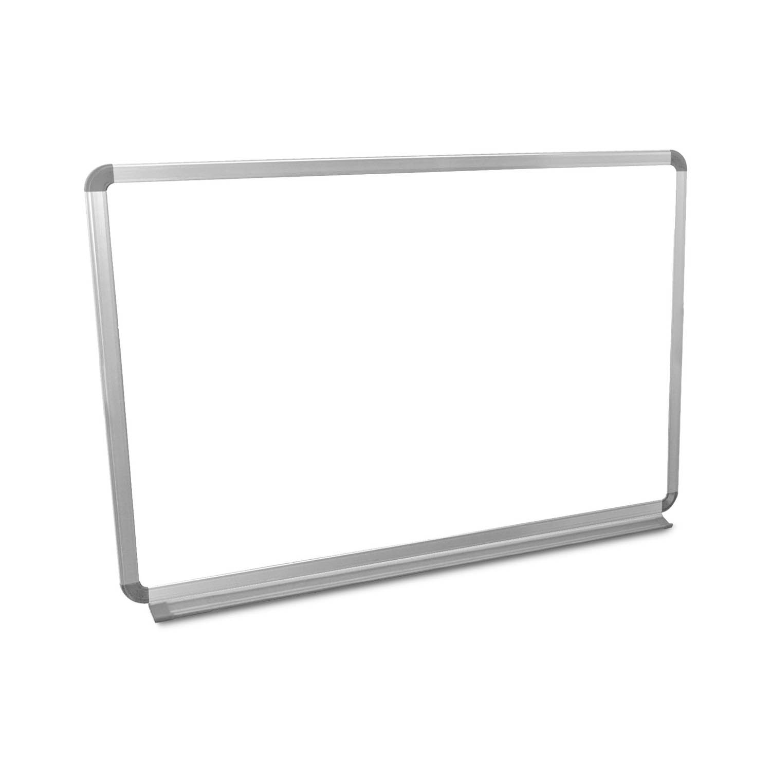 Offex Universal Dry Erase Classroom Wallmount Magnetic Whiteboard With Aluminium Frame And Tray, 36