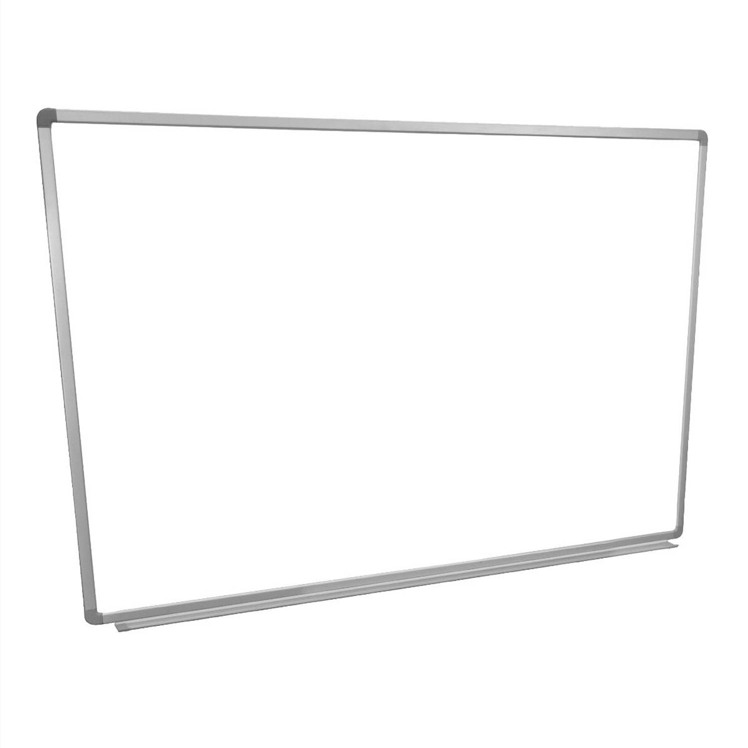 Offex Universal Dry Erase Classroom Wallmount Magnetic Whiteboard With Aluminium Frame And Tray, 48