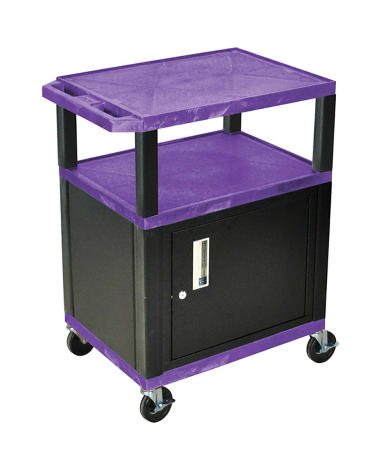 Offex Purple Cart 34 With Black Tuffy Cabinet