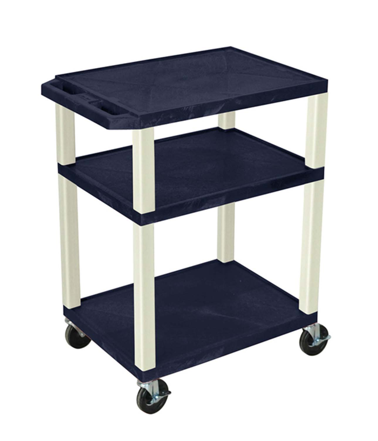 Offex Topaz Multipurpose Tuffy Cart 34 with Putty Legs