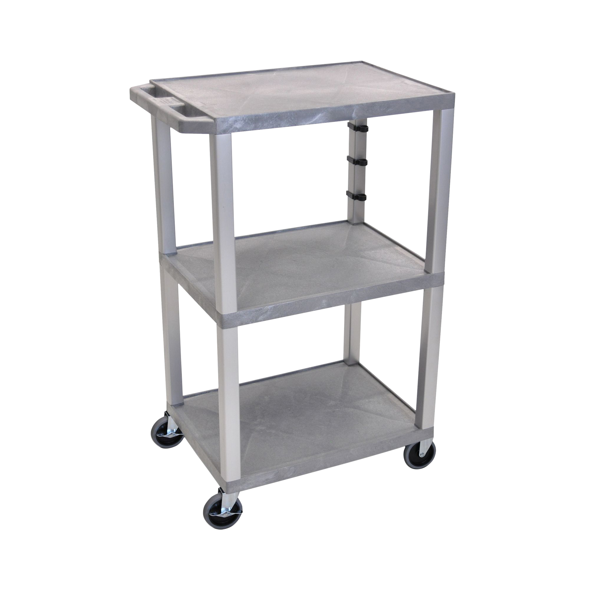 Offex Gray Tuffy Cart 42 with Gray Legs