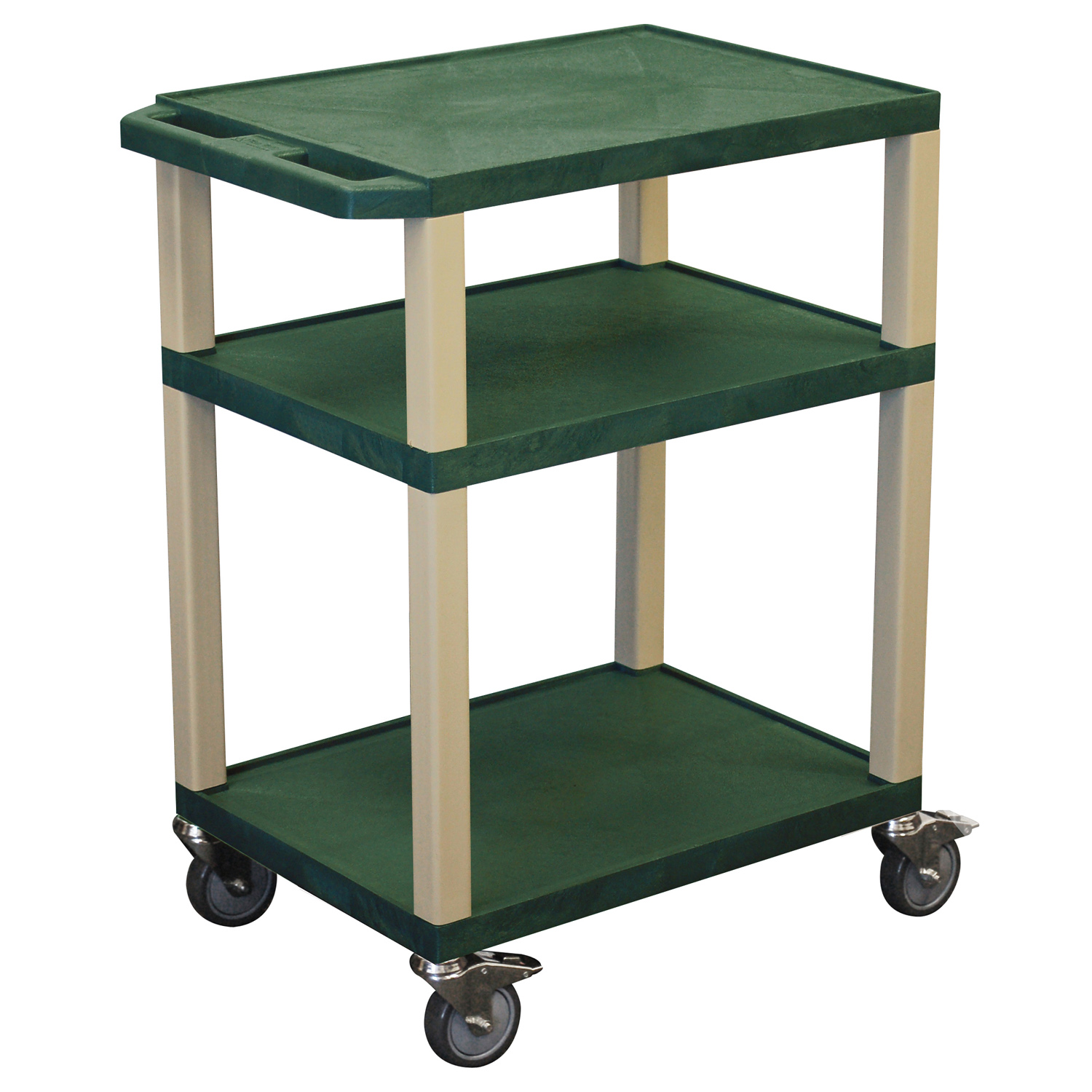 Offex Hunter Green Multipurpose Tuffy Cart 34 with Putty Legs at Sears.com