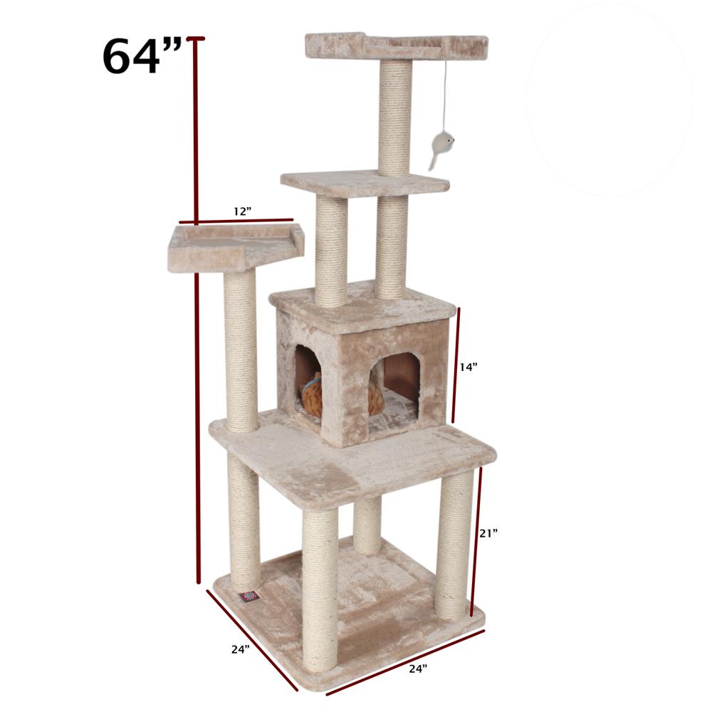 Домик когтеточка для кошки своими руками размеры