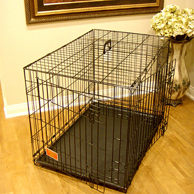 large metal dog crate bing images With large steel dog crate