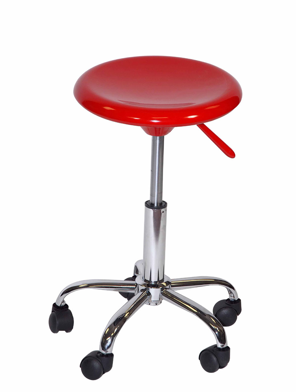 Offex Artisan Adjustable Height Sturdy Studio Drafting Stool With Casters EBay