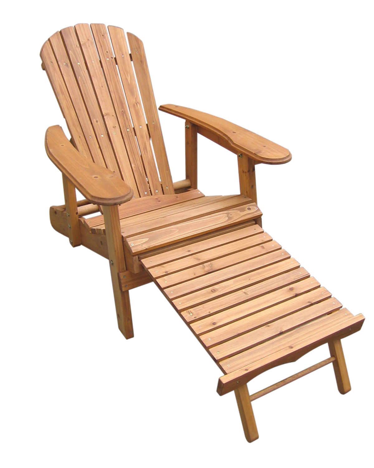 Very Impressive portraiture of  and Reclining Fir Wood Adirondack Chair With Pull Out Ottoman eBay with #AF5D1C color and 1200x1500 pixels