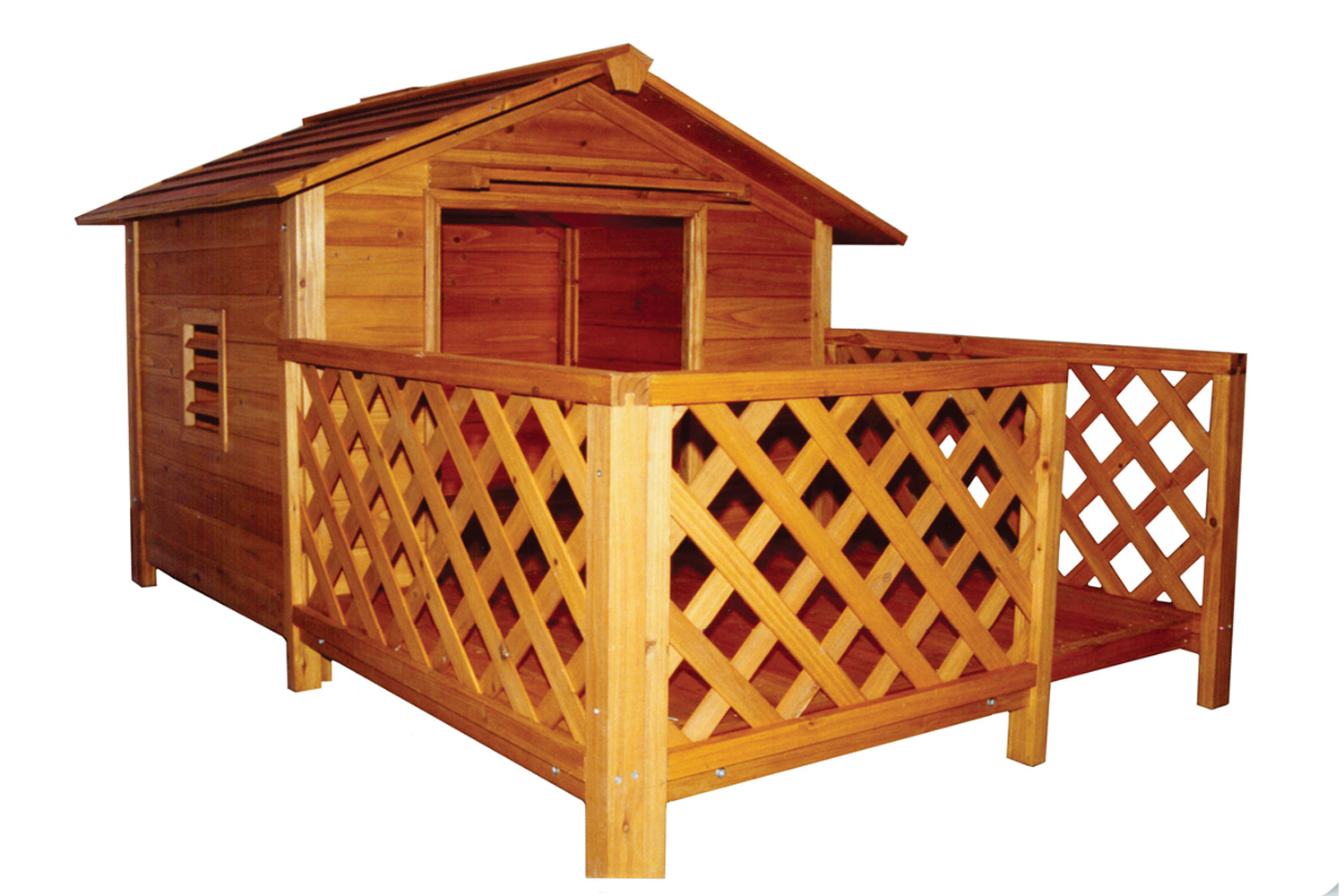 Comfort Light Weight Mansion Pet Dog House Perfect For