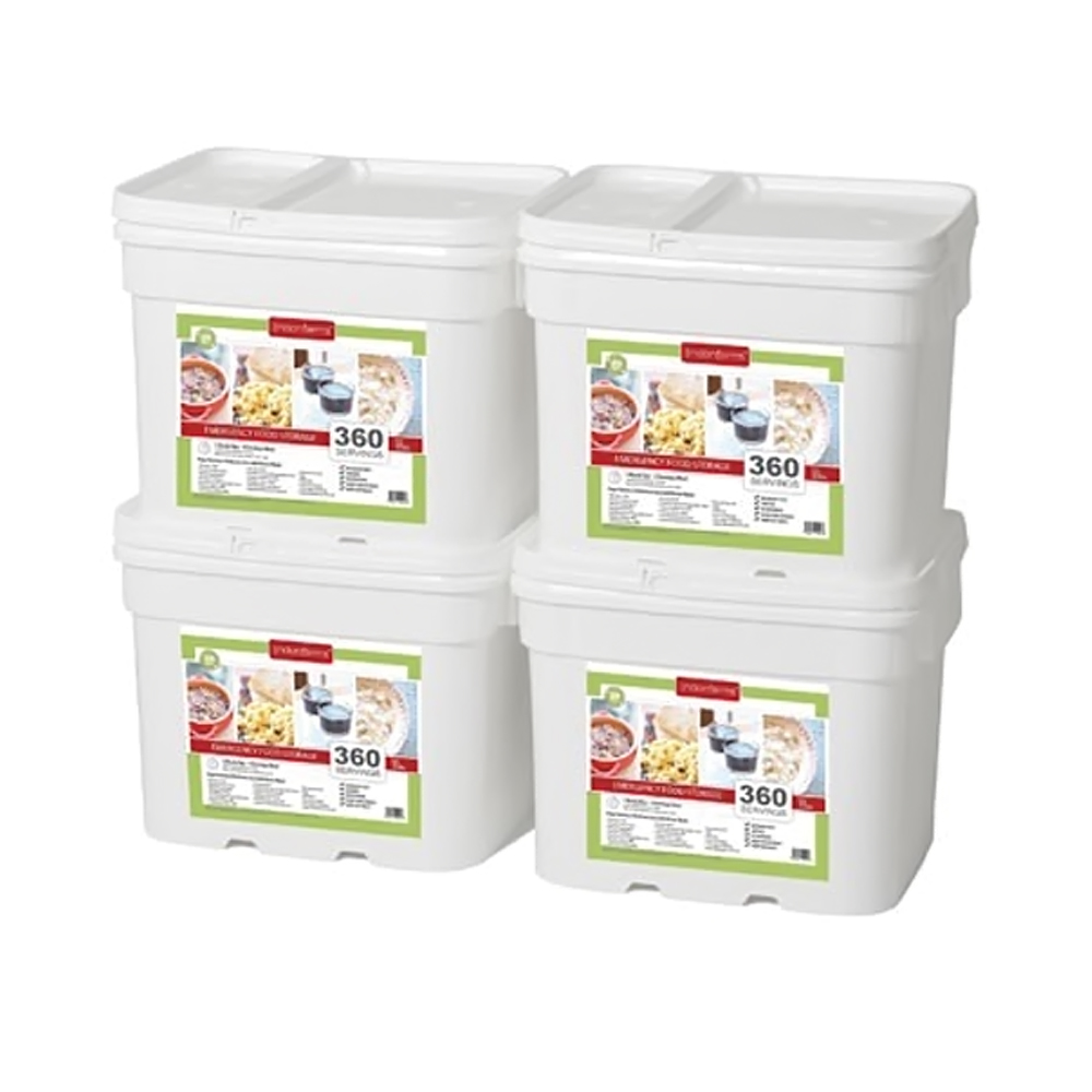 Lindon Farms 1440 Stackable Emergency Food Storage Meal Container at Sears.com