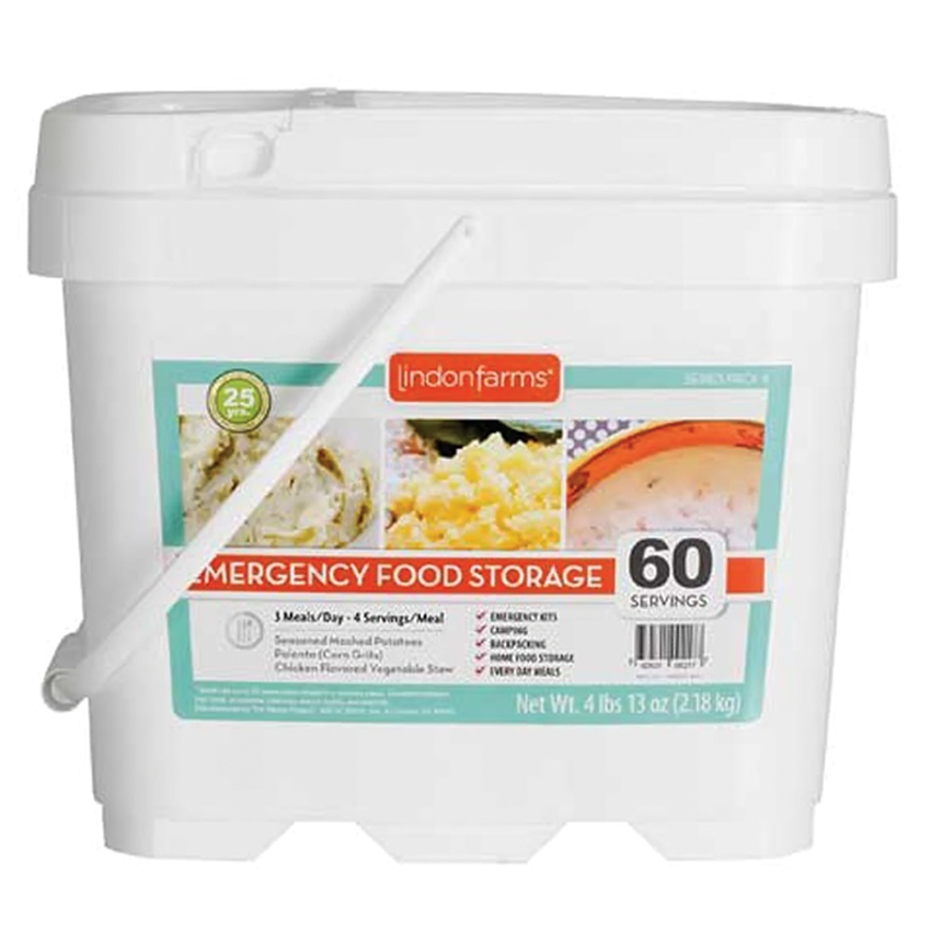 Lindon Farms 60 Servings Emergency Daily Meal Food Storage Container at Sears.com