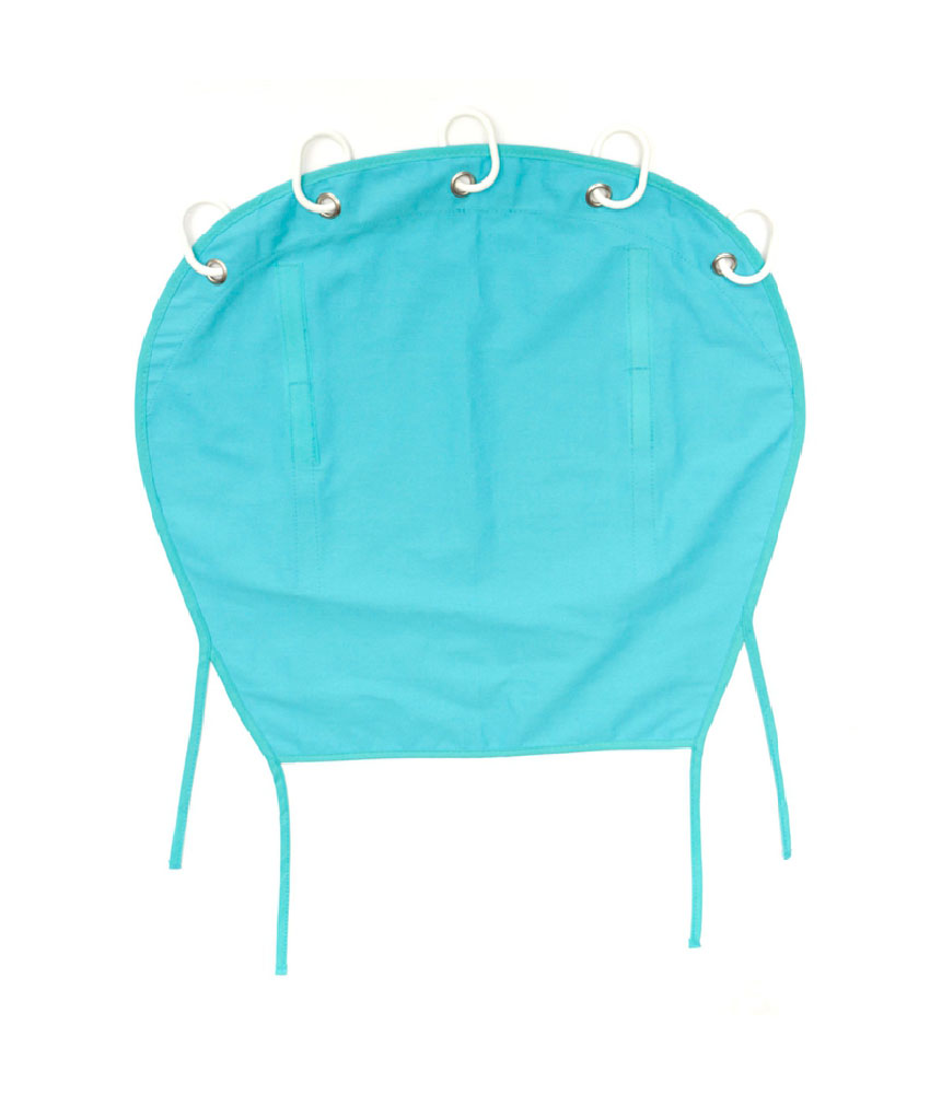 Infant Baby Sunshade UV Protective Stroller Car Seat Cover - Blue