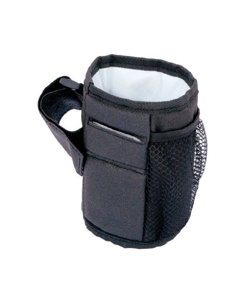 Waterproof Stroller Pocket Cup Bottle Holder - Black