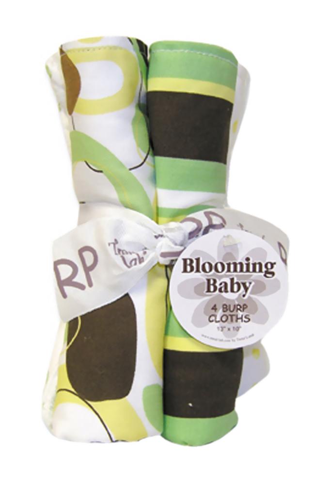 Trend Lab Kids Infant Newborn Saliva Towel Bouquet 4 Pack Burp - Giggles at Sears.com