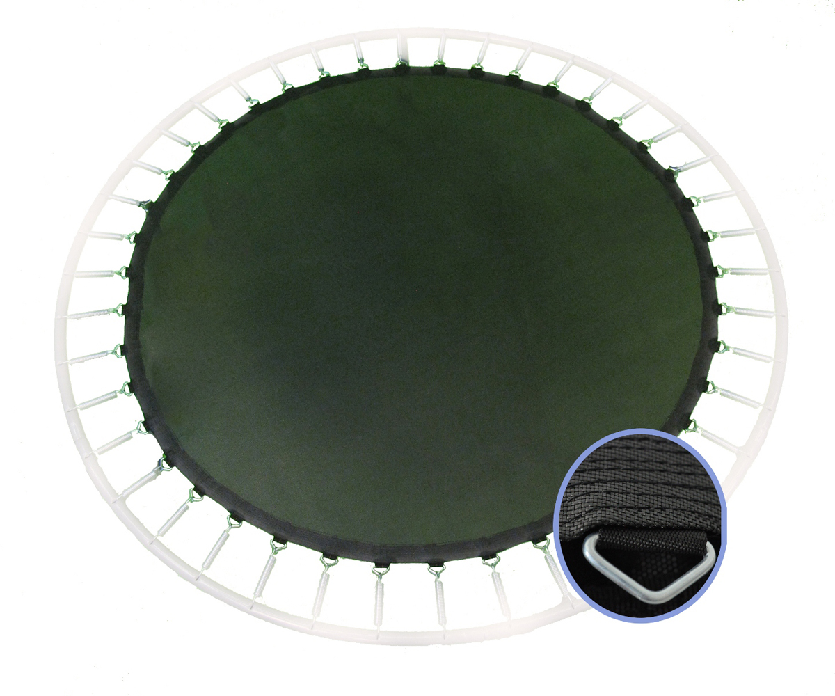 Upper Bounce 12' Trampoline Jumping Mat fits for 12 FT. Round Frames with 60 V-Rings using 7