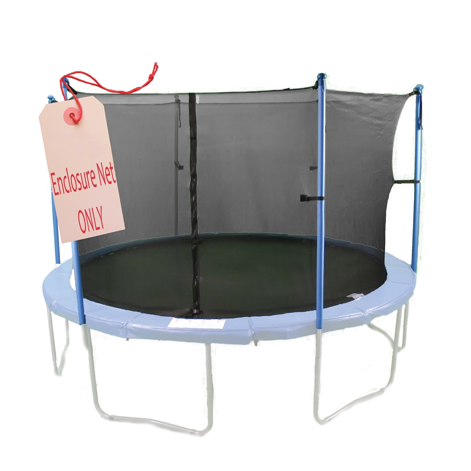 Jump Zone Trampoline Replacement Net: Jump Zone 12 Ft Round Trampoline And Enclosure With