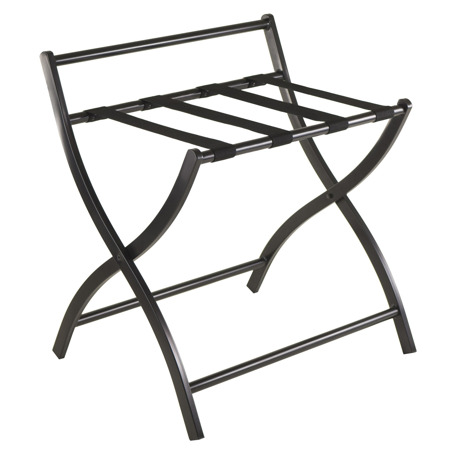 store your luggage conveniently with the legrand luggage rack